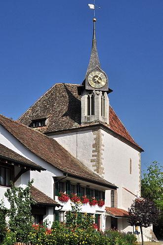 Greifensee Reformed Church - Image: Greifensee Reformierte Kirche (Gallus Kapelle), Im Städtli 2011 09 03 16 05 06
