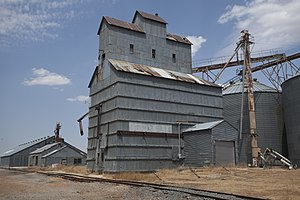 Curry County, New Mexico - Grier grain elevator