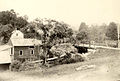 Grist Mill and bridge over Spruce Brook. East Litchfield 1900.JPG