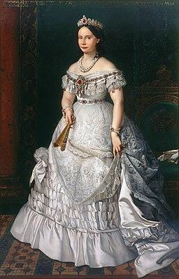 Księżna Sachsen-Weimar-Eisenach Wilhelmina Maria Zofia Ludwika (1824–1897)