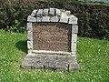 Groslay (95), ancien cimetière protestant, rue d'Enghien.JPG