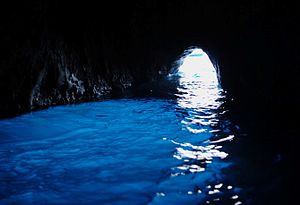 Capri - One of the symbols of Capri: the Blue Grotto