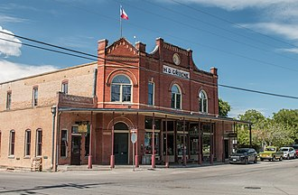 Gruene, New Braunfels, Texas - Gruene Historic District in 2018