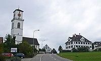 GuettingeKirchePfarrhaus.JPG