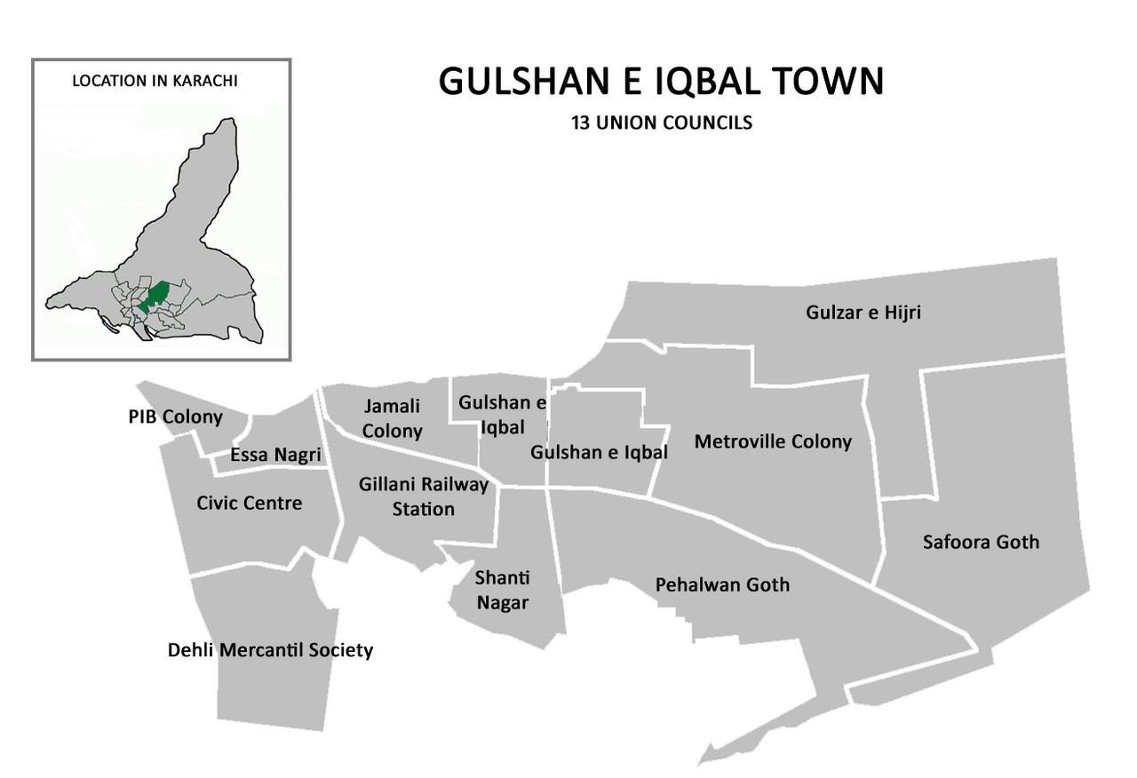 List of Union Councils of Karachi - Wikiwand