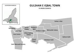 Gulshan Town - Image: Gulshan Town Karachi