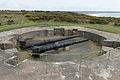 Guns at Battery Moltke, Les Landes, Jersey.JPG