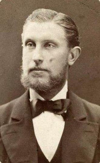 Gustav Frederik Holm - Gustav Frederik Holm, 1883