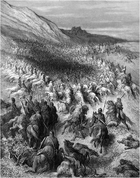 Fichier:Gustave Doré- Battle of Hattin.jpg