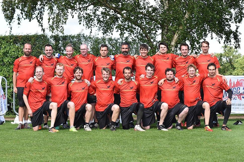 Guts Frisbee German Nationalteam 2016
