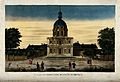 Hôtel des Invalides, Paris; from the Breteuil walk. Coloured Wellcome V0014317.jpg