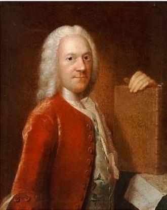 Jakob Langebek - Portrait attributed to Johan Hörner