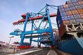 HHLA Container Terminal Altenwerder (CTA) in Hamburg - Winter 2010 - 03.jpg