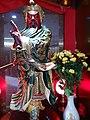 HK 上環 Sheung Wan 北園酒家 North Garden Restaurant 關帝神像 Kwan Kung god statute n red lamp November 2020 SS2 02.jpg