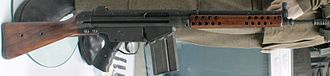 Heckler & Koch G3 - Original G3 variant with older style sights and wooden furniture