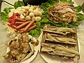 HK Hotpot foods Dec-2013 Ingredients 蟶子 Solenidae 蟹 Crabs 蝦 Prawn 雞肉腸仔 Sausage n 魚旦 Fishballs.jpg