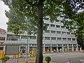 HK King's Park 伊利沙伯醫院 Queen Elizabeth Hospital Road 普通科護士訓練學校 School of General Nursing Jan-2013 tree guard.JPG