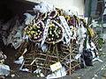 HK NP Hong Kong Funeral Home used flowers.JPG