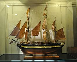 Model in het Vancouver Maritime Museum