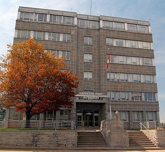 Hamilton Port Authority - Hamilton Port Authority Building, 605 James St N.