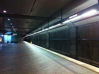 Wilshire/Vermont station Los Angeles Metro Rail station