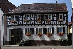 Cultural heritage monument in Hagenbach