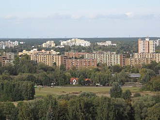 Wilhelmstadt - Image: Hahneberg view to Staaken