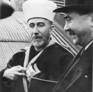 Mile Budak - Nazi collaborator Haj Amin al-Husseini and Mile Budak meeting in occupied Sarajevo, 1943.