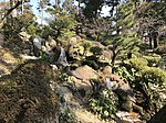 Hakuryusen Waterfall in Shukkei Garden.jpg