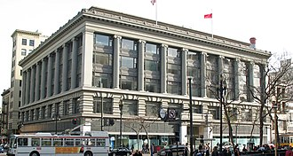 Broadway Stores - Former Hale's store in San Francisco at 5th and Market