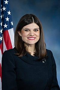 Haley Stevens, official portrait, 116th Congress.jpg