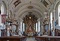 Halfing Pfarrkirche Mariä Himmelfahrt Kirchenschiff 2017 08 05.jpg