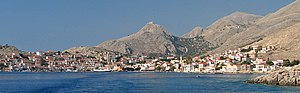 Halki (Greece) - The port of Emporio