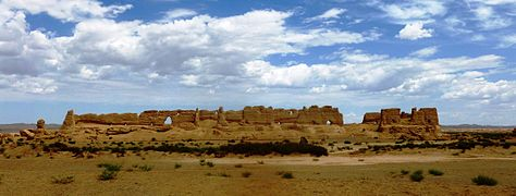 Han Dynasty Granary west of Dunhuang.jpg