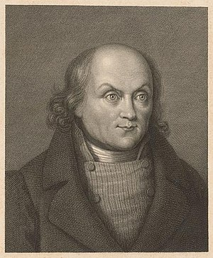 Hans Georg Nägeli - Hans Georg Nägeli, engraving by Martin Esslinger, 1838