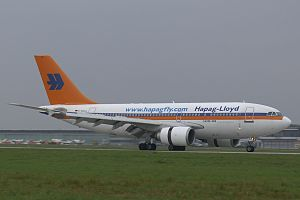 Hapag-Lloyd Flug - Hapagfly Airbus A310 old livery