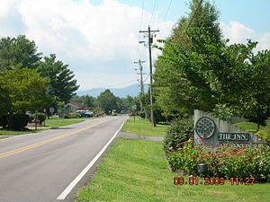 Baneberry, Tennessee - Harrison Ferry Road