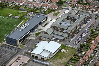 Harton Academy - Image: Harton Technology College Aerial view