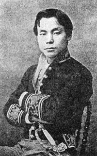 Hatakeyama Yoshinari (At Paris in 1874).jpg