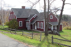 A Wonder-Book for Girls and Boys -  Recreation of the home in Lenox, Massachusetts, where Hawthorne wrote A Wonder-Book