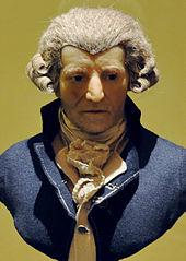 Wax sculpture of Haydn by Franz Thaler, c. 1800 (Source: Wikimedia)