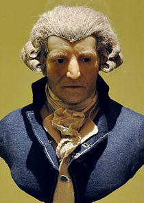 Wax sculpture of Haydn by Franz Thaler, c. 1800 (Source: Wikimedia)