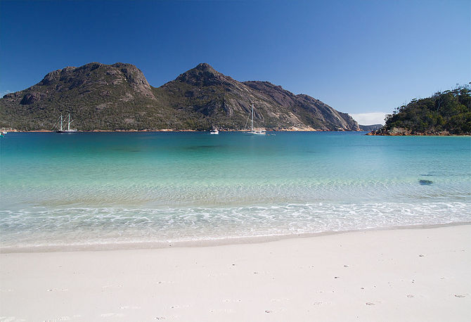 The Hazards from Wineglass Bay, Freycinet Peni...