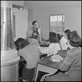 Heart Mountain Relocation Center, Heart Mountain, Wyoming. Bill Hosokawa, Editor of the Sentinel, H . . . - NARA - 539213.tif