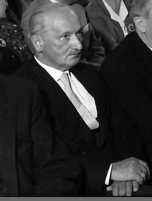 Continental philosophy - Martin Heidegger