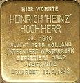 Heidelberg - Stolpersteine Heinrich 'Heinz' Hochherr.jpg