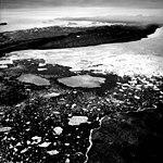 Heilprin Glacier, Calving terminus, July 24, 1964 (GLACIERS 1708).jpg