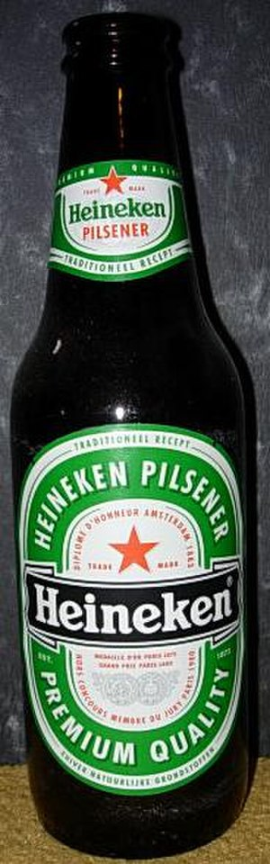 Heineken brands - Dutch Heineken bottle