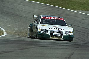 Abt Sportsline - An Abt-run Audi A4 DTM, driven by Heinz-Harald Frentzen in the 2006 Deutsche Tourenwagen Masters