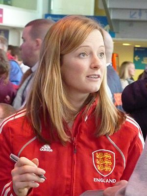 Helen Richardson-Walsh - Image: Helen Richardson Supersixes Finals Day 2011